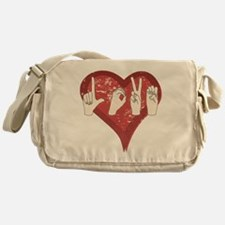 LoveASL Messenger Bag