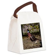 (14) Pheasant  497 Canvas Lunch Bag