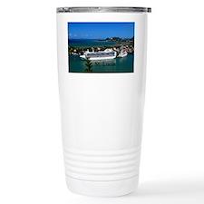 St. Lucia cruise ships20x16 Travel Mug