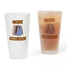 More Accordion-1 Drinking Glass