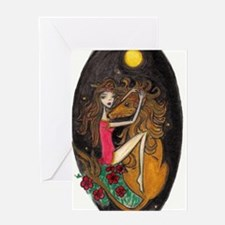 Tarot: Strength, Jul by Lee Greeting Card