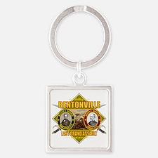 Bentonville (battle)1 Square Keychain