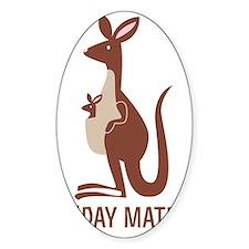 GDay Mate Kangaroo Decal