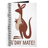 Baby kangaroo Journals & Spiral Notebooks