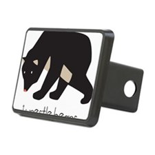 I Wrestle Bears Hitch Cover
