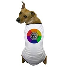 GSAbuttonRainbow Dog T-Shirt