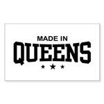 Made in Queens Rectangle Sticker