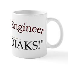 70th Engineer Bn cap Mug