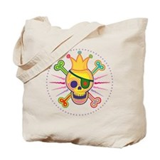 crown-skull-DKT Tote Bag