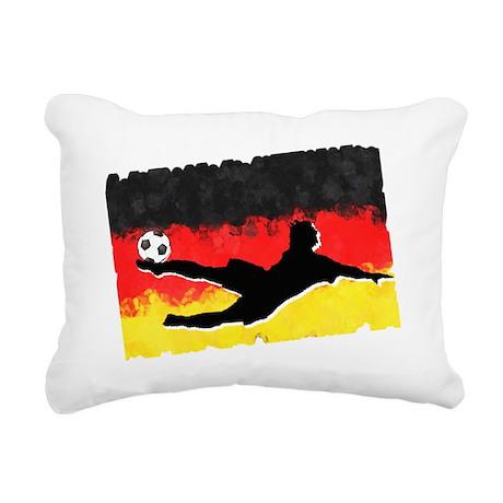 Soccer-Germany Rectangular Canvas Pillow