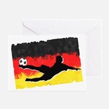 Soccer-Germany Greeting Card