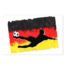 Soccer-Germany Postcards (Package of 8)