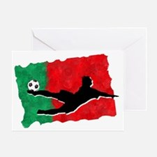 Soccer-Portugal Greeting Card