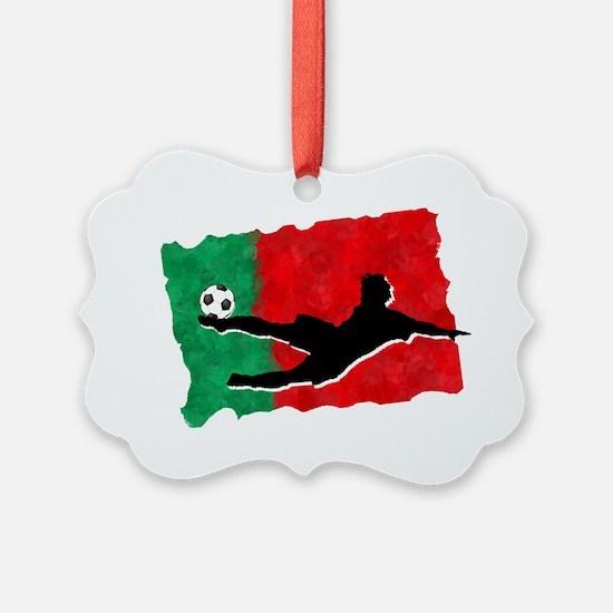 Soccer-Portugal Ornament