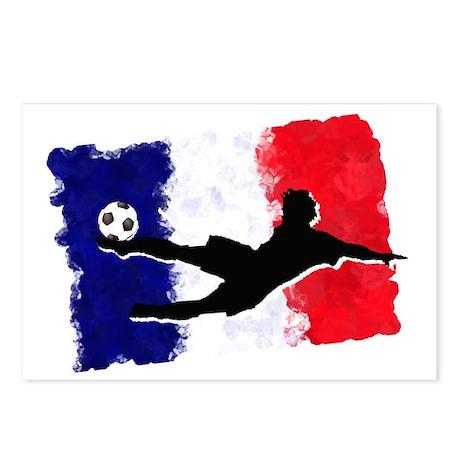 Soccer-France Postcards (Package of 8)