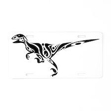 Raptor_Black Aluminum License Plate