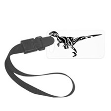 Raptor_Black Luggage Tag