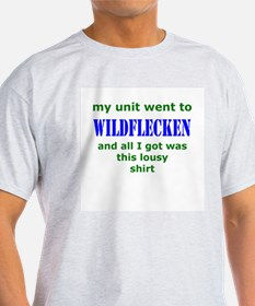 My Unit went to Wildflecken  Ash Grey T-Shirt