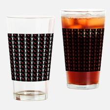 Pirate_Flag_Black_Beard(B) Drinking Glass