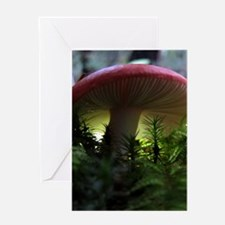 redmushroomjournal Greeting Card
