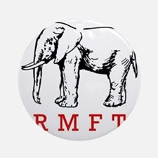 rmft t shirt copy Round Ornament