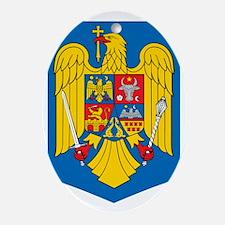 Romania Oval Ornament