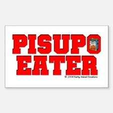 Pisupo Eater Rectangle Decal