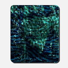 FabBatikAbCatBl459_ipadc Mousepad