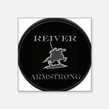 """reiver rnd armstrong Square Sticker 3"""" x 3"""""""