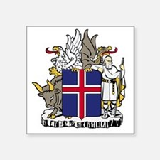 "Iceland Square Sticker 3"" x 3"""