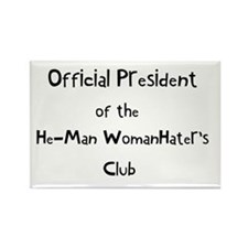 Official He Man Woman Hater's Rectangle Magnet