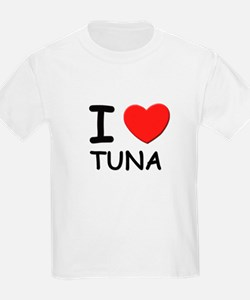 I love tuna Kids T-Shirt