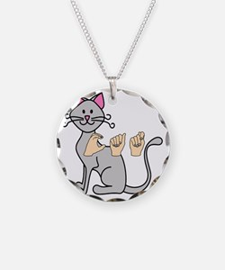 CatPainted Necklace
