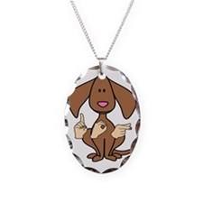 DogPainted Necklace