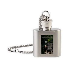 SaveTheCherubs-MarthaCatePhotograph Flask Necklace