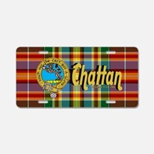 chat3.5x5.5oval Aluminum License Plate