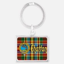 chat3.5x5.5oval Landscape Keychain