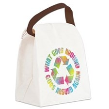 what-goes-around-T Canvas Lunch Bag