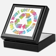 what-goes-around-T Keepsake Box