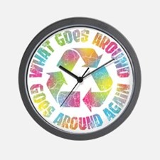 what-goes-around-T Wall Clock