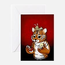 Chueh Tiger Renoly 2010 Greeting Card