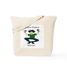 FutureLotteryWinner Man copy Tote Bag