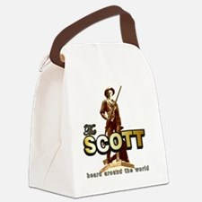 TheScott6x6 Canvas Lunch Bag