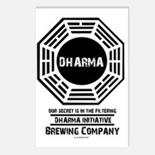 Dharma Brewing Company Postcards (Package of 8)