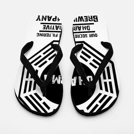 Dharma Brewing Company Flip Flops