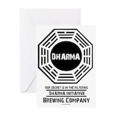 Dharma Brewing Company Greeting Card