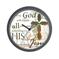 2-Picture Frame Wall Clock