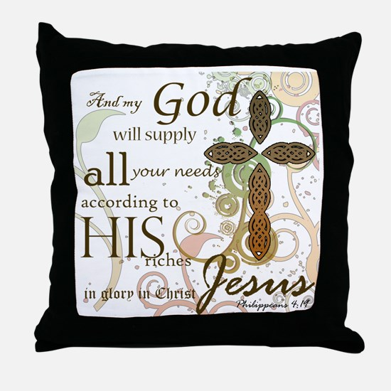 2-Picture Frame Throw Pillow