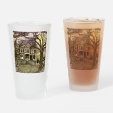 house3colorshirt Drinking Glass