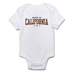 Made in California Infant Bodysuit